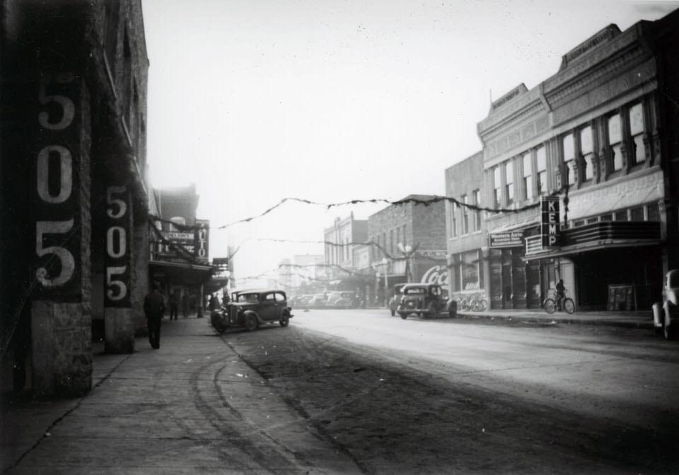 Dewey Ave, Poteau, OK (circa 1940)
