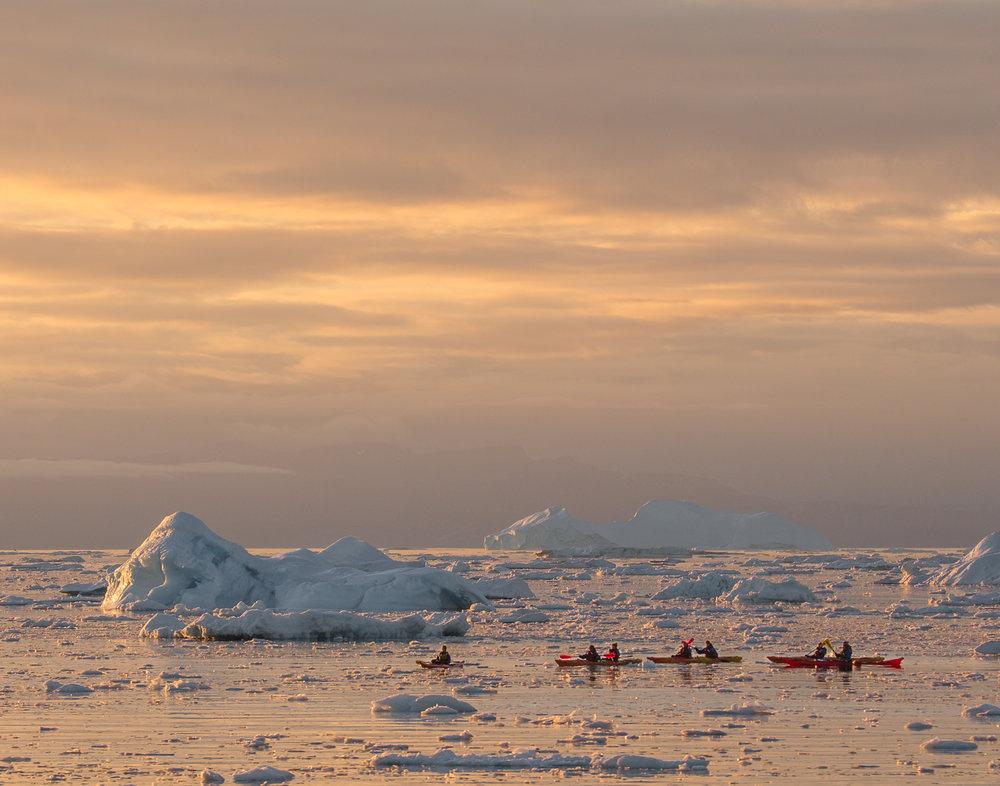 17 Ilulissat Icefjord, Greenland
