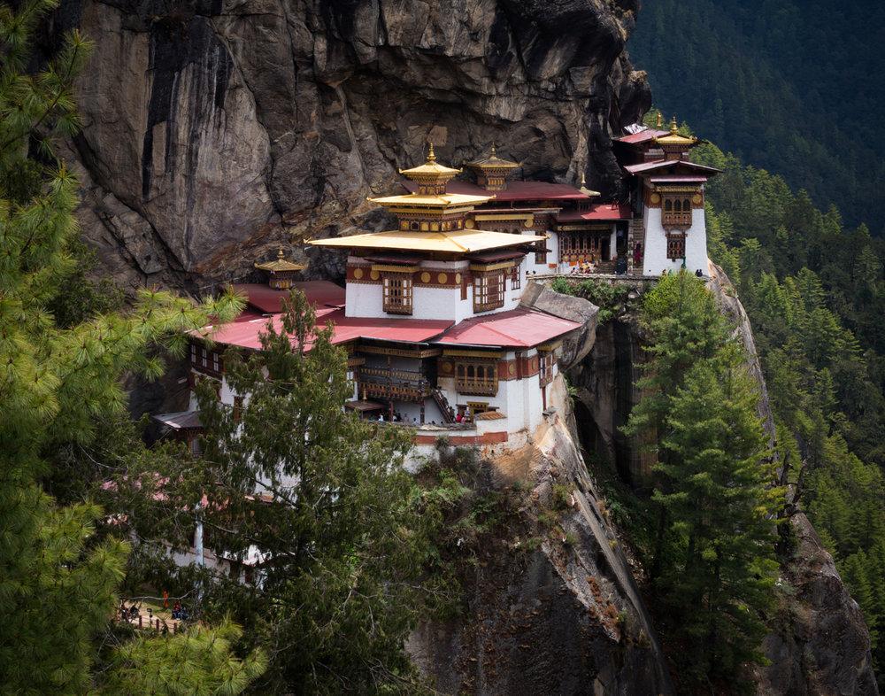79 Tiger's Nest Monastery, Bhutan