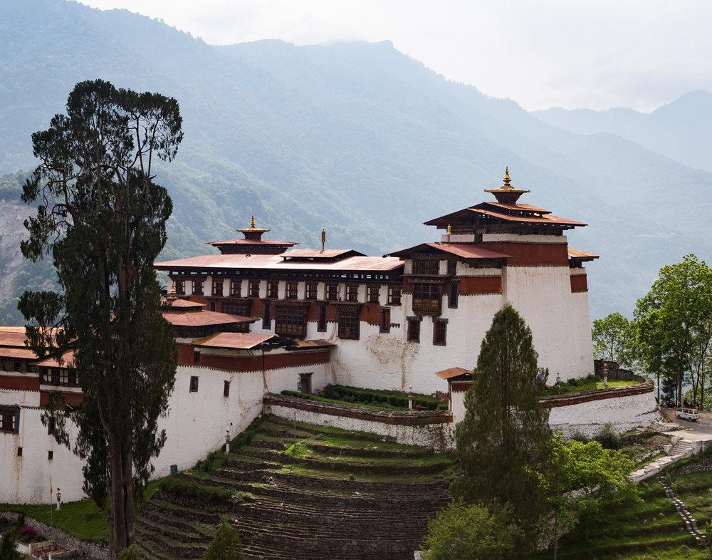 80 Trongsa Dzong, Bhutan