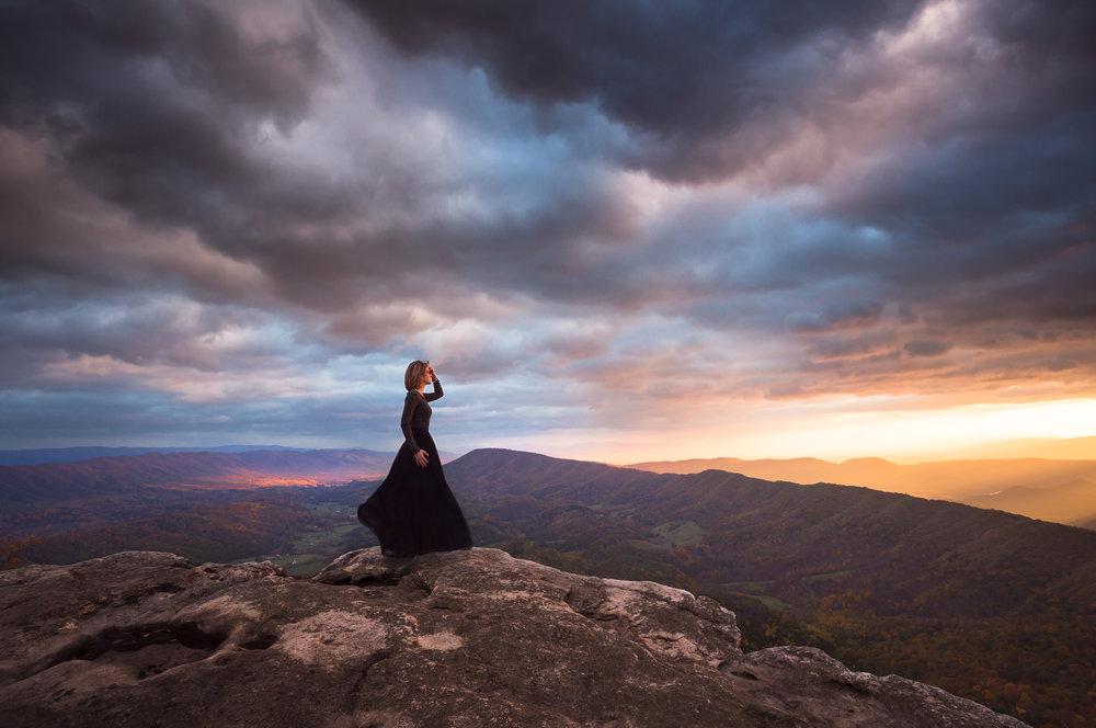 Daybreak in the Blue Ridge