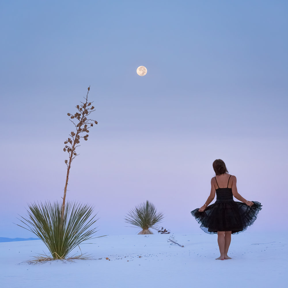 Desert Trio by Moonlight