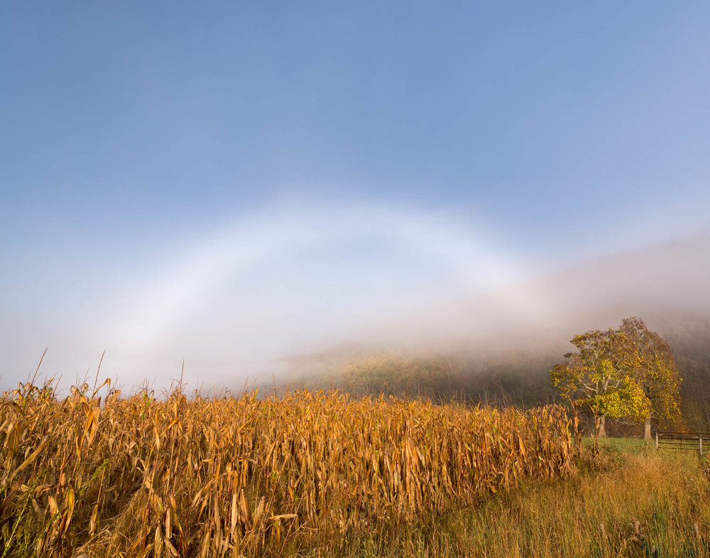 57 Fogbow over Gap Mills, WV