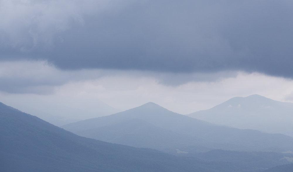 Purgatory Mountain from Blue Ridge Parkway