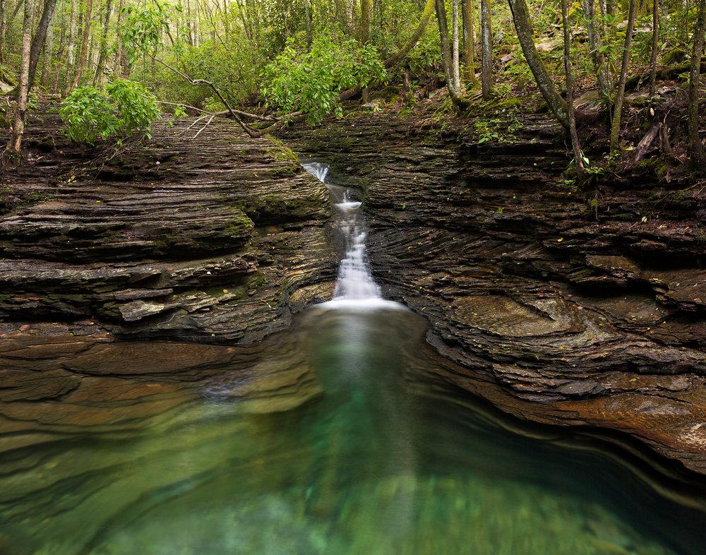 Devil's Bathtub, Jefferson National Forest
