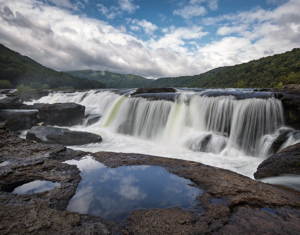 36 Sandstone Falls on the New River, Summers County, WV (MVP)