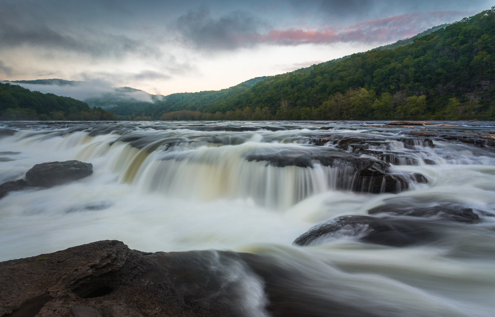 38 Sandstone Falls on the New River, Summers County, WV (MVP)