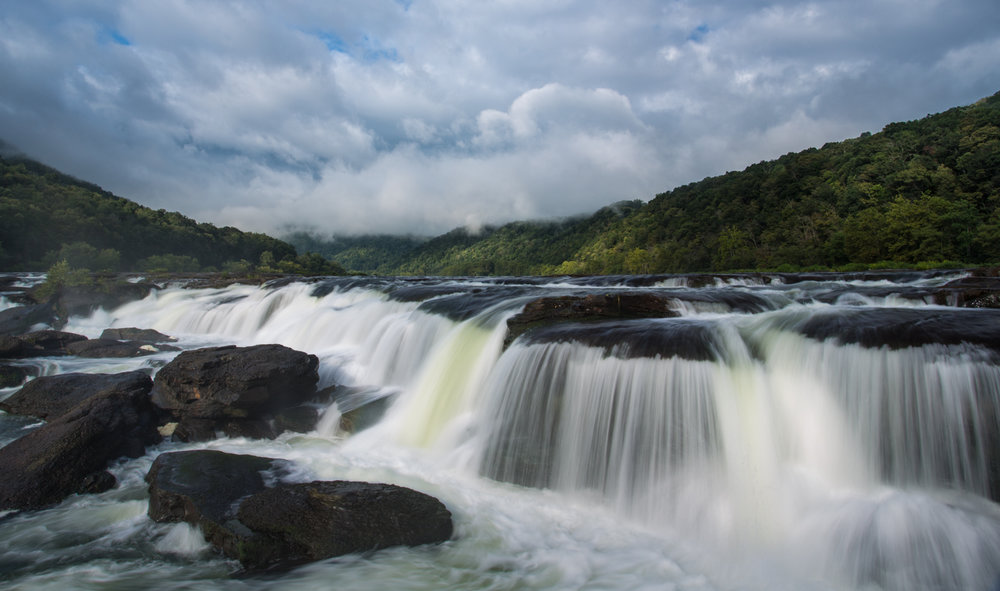 39 Sandstone Falls on the New River, Summers County, WV (MVP)