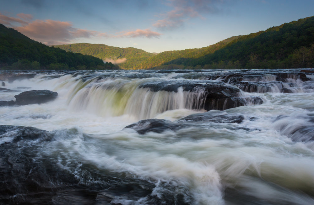 40 Sandstone Falls on the New River, Summers County, WV (MVP)