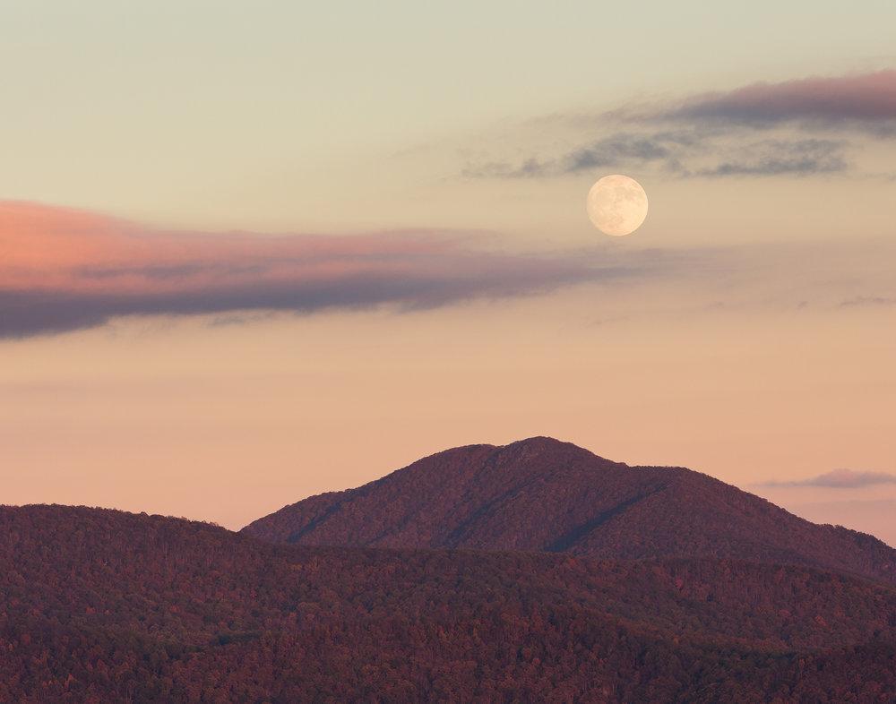 47. Peaks of Otter, Blue Ridge Parkway, Virginia
