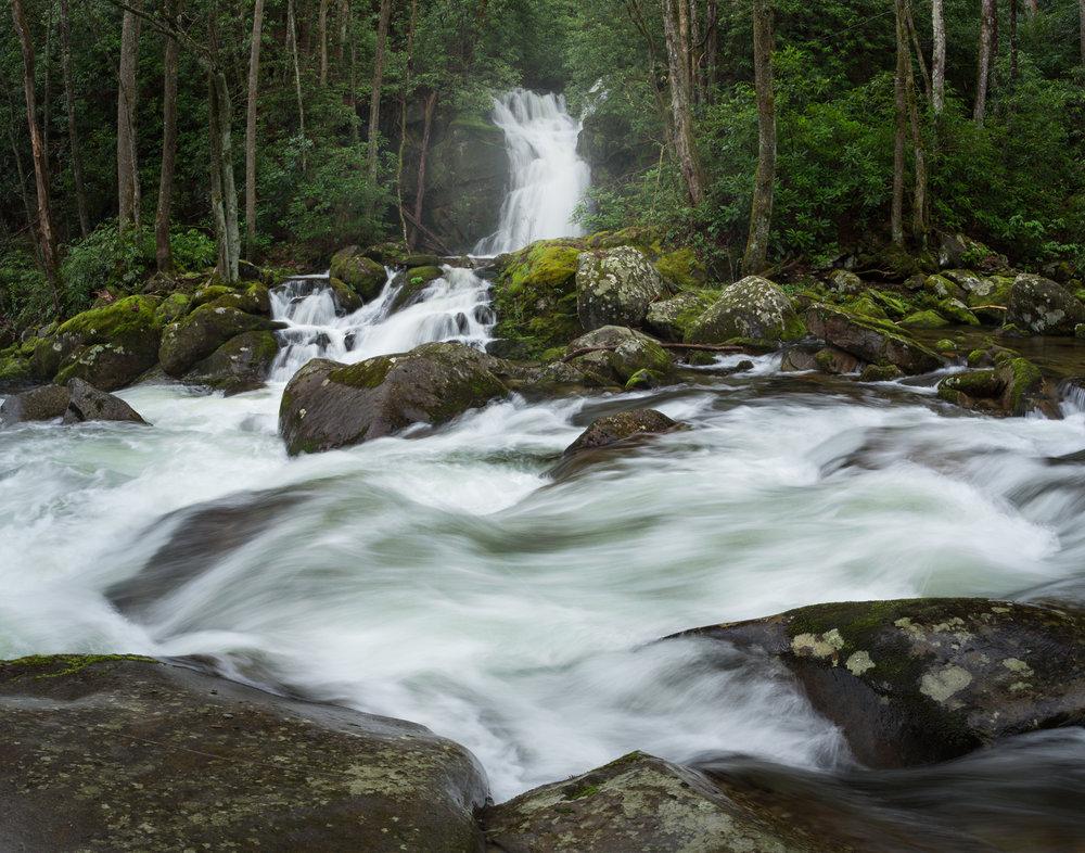 16. Mouse Creek Falls, Big Creek, Great Smoky Mountains National Park