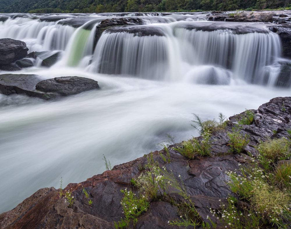 17. Sandstone Falls, New River Gorge National River, West Virginia