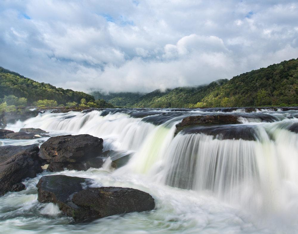 32. Sandstone Falls, New River Gorge National River, West Virginia