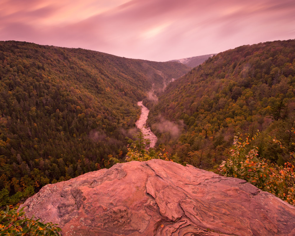 45. Blackwater Canyon, Blackwater Falls State Park, West Virginia