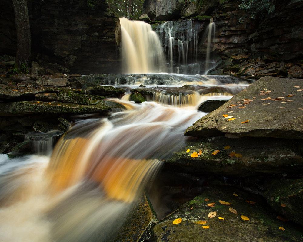 46. Elakala Falls, Blackwater Falls State Park, West Virginia
