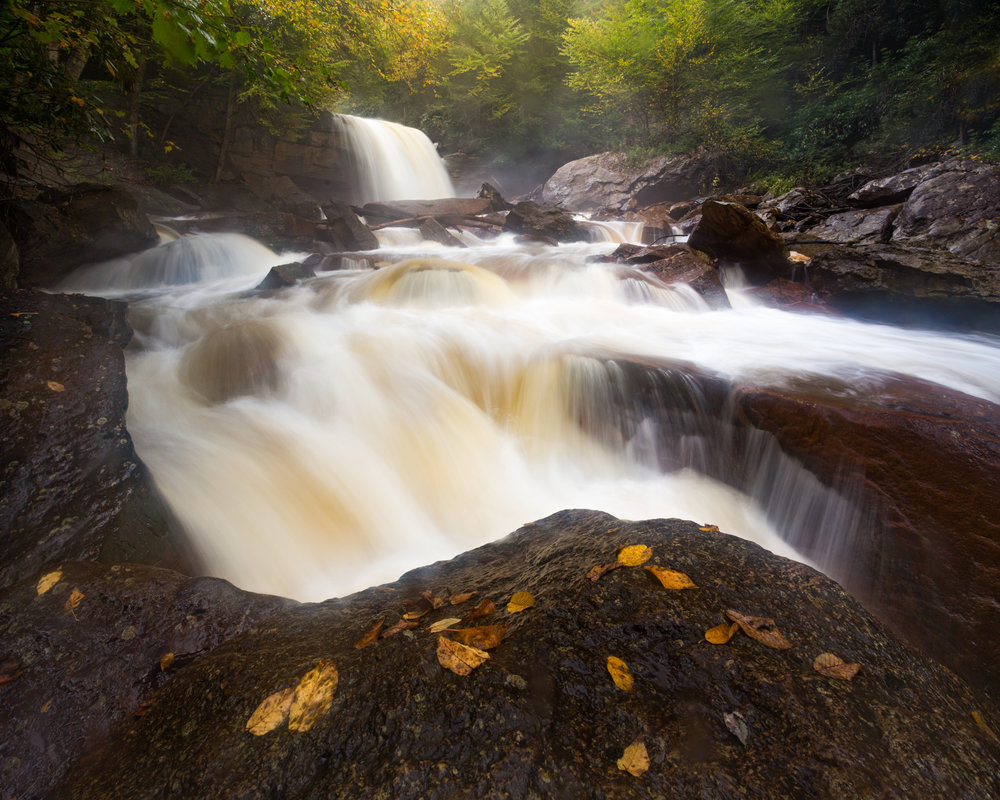 51. Douglas Falls, Monongahela National Forest, West Virginia