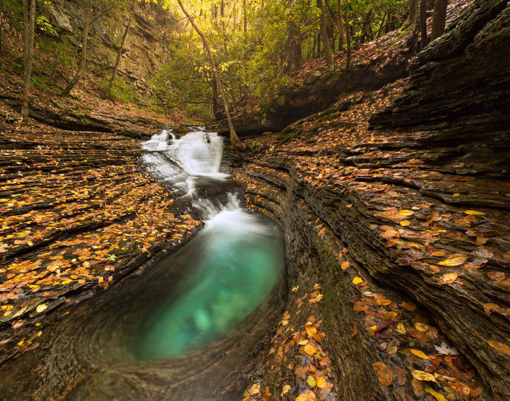 57. Devil's Bathtub, Jefferson National Forest, Virginia