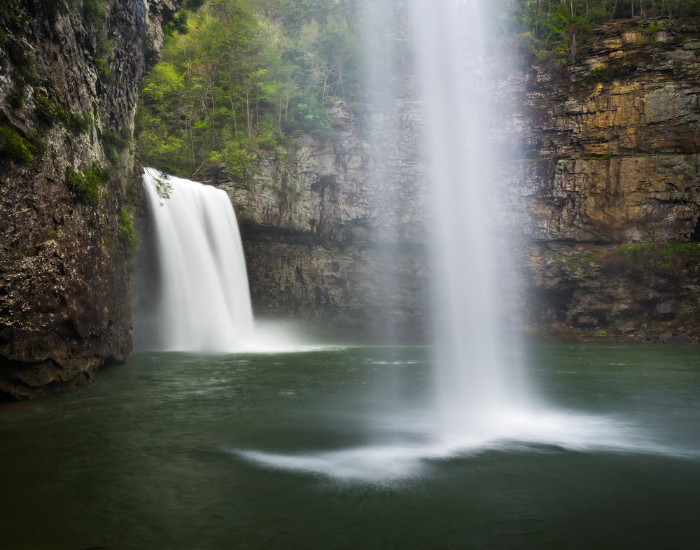 14. Cane Creek Falls and Rockhouse Falls, Fall Creek Falls State Park, Tennessee