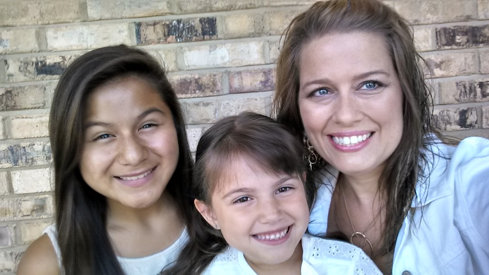 A Selfie with my girls!!!!  :)