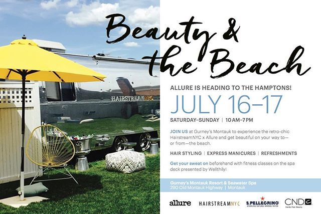Hello there. HAIRSTREAM is back in action again with new location this summer @gurneysmontauk July 16 & 1 7th. Please come visit us. @allure @lovestreamnyc @hairspace.co @ricpipino @gilhaziza