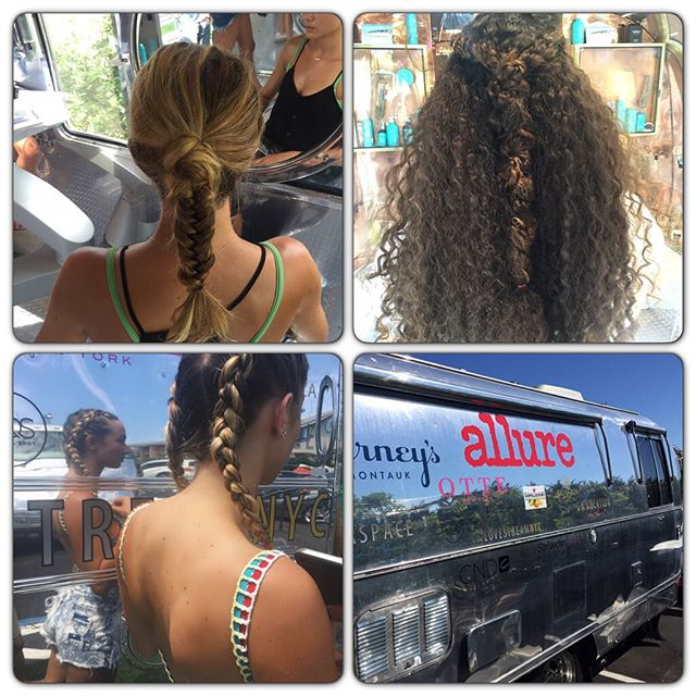 Thanks for a great weekend and amazing partnership @allure @gurneysmontauk