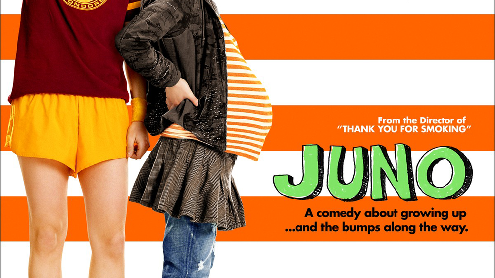 My line for the  JUNO  trailer also made the one-sheet.