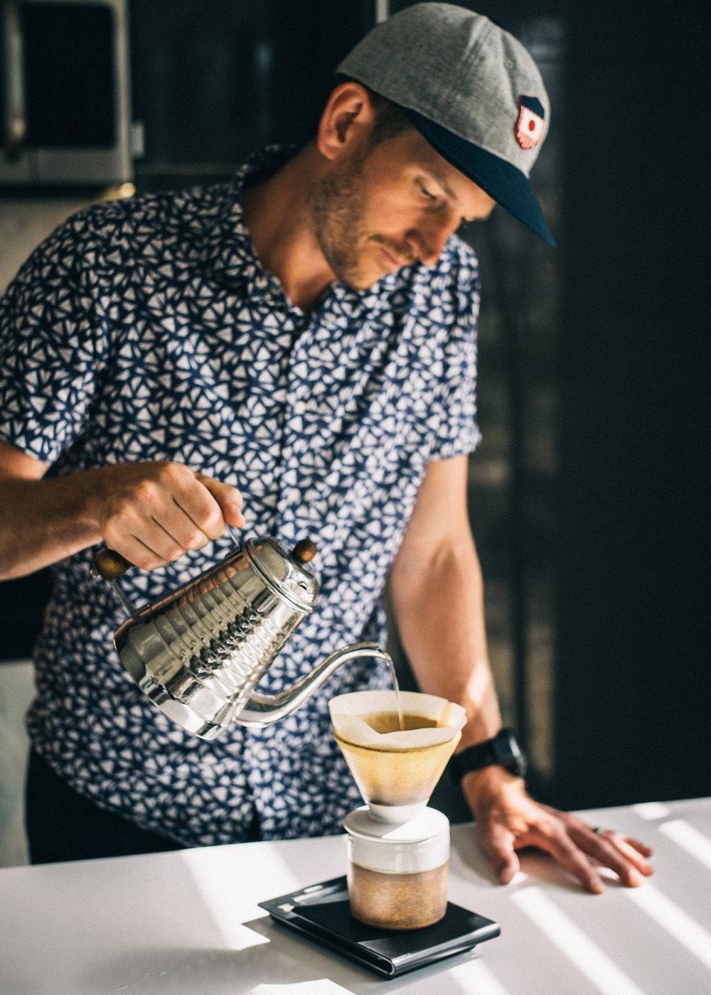 coffee.pour