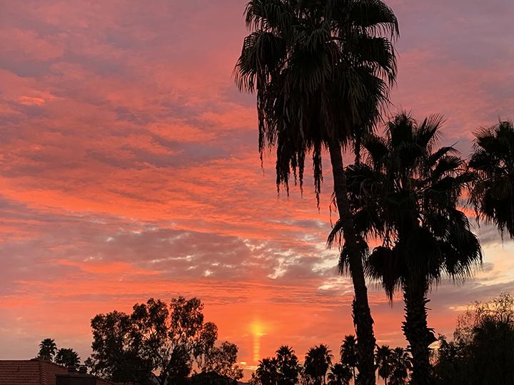 ORO VALLEY SUNSET IMAGE BY DAVID WORRIX