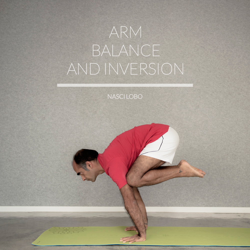 Arm Balance and Inversion with Nasci Lobo