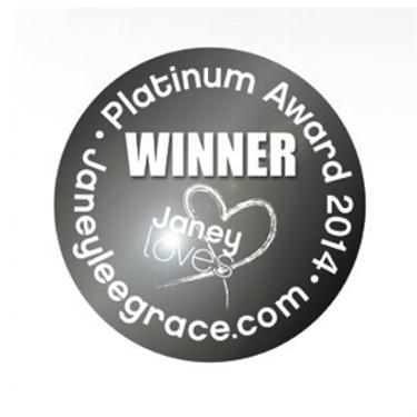 Janeyleegrace.com - Platinum Award 2014 Winner