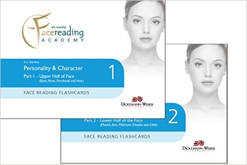 Face Reading Flashcards - Personality & Character - HKD 500/set Part 1: Upper Half of the Face Part 2: Lower Half of the Face