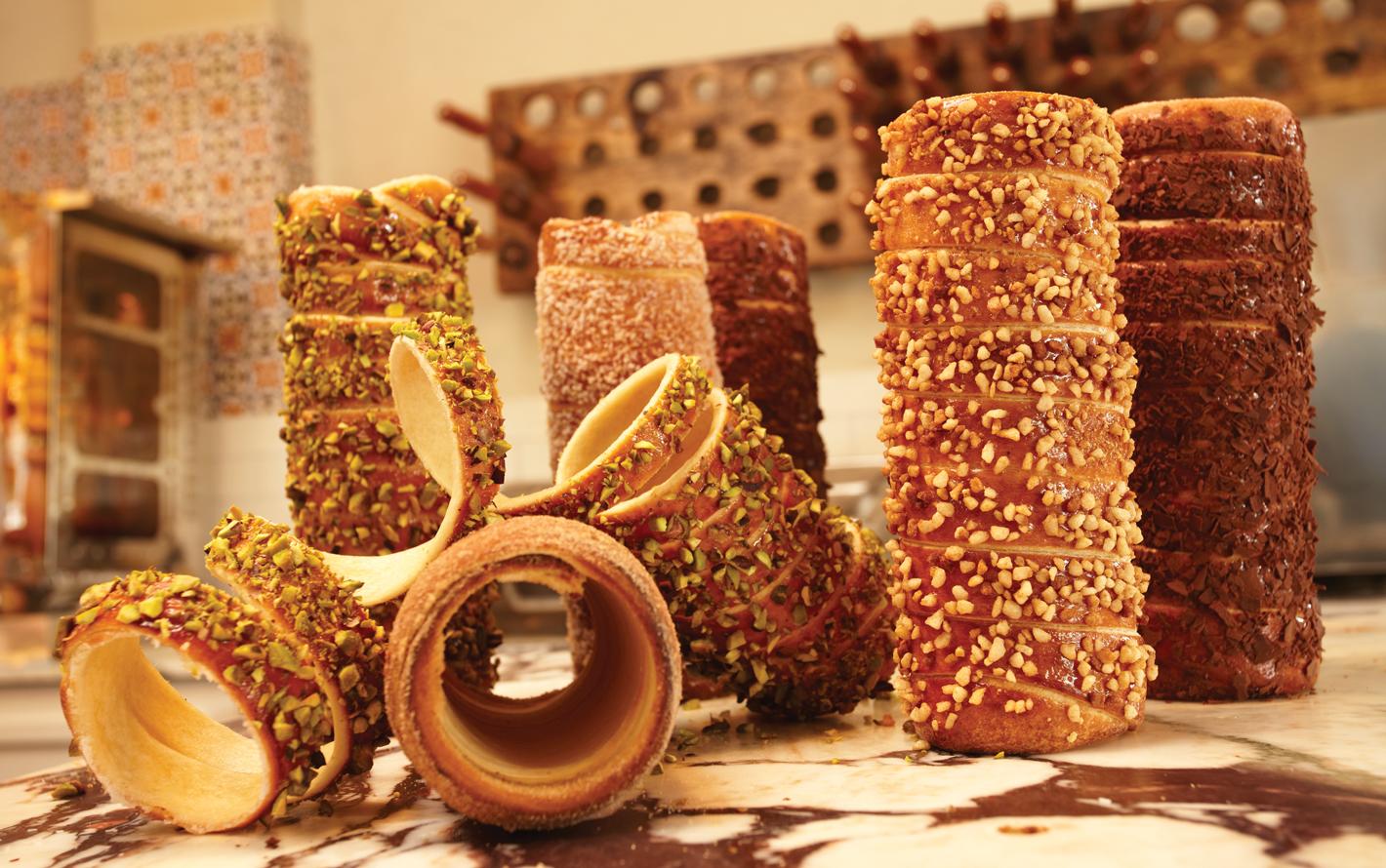 Kurtosh's famous chimney cakes.