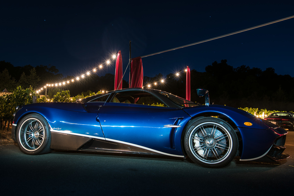 bob mcclenahan event photographer napa pagani light painting
