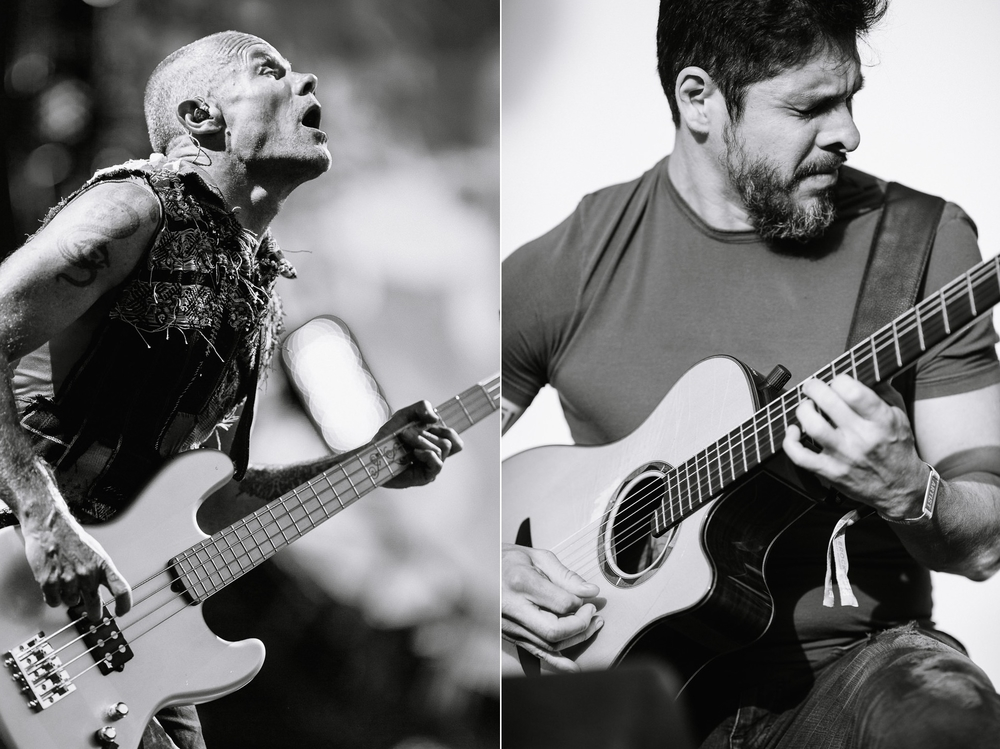 Red Hot Chili Peppers and Rodrigo y Gabriela