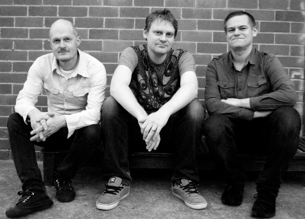Triplex are: Tim Bradley - Drums, Andrew Morris - Bass and Compositions, Michael Coggins - Guitar and Compositions