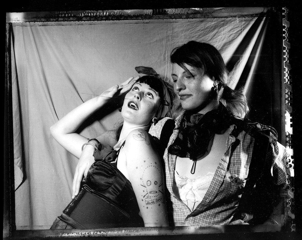 Untitled #6 (2007), Polaroid 665 (Polapan PN), 8.6 cm x 10.8cm
