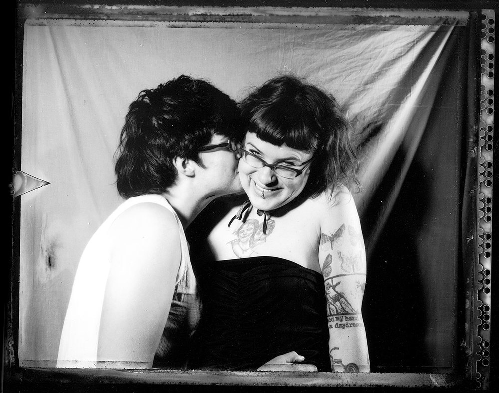 Untitled #4 (2007), Polaroid 665 (Polapan PN), 8.6 cm x 10.8cm