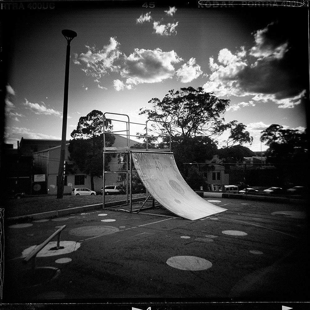Fernside Ramp, Waterloo, NSW (2006), Archival Pigment Print, 59.4cm x 84.1cm