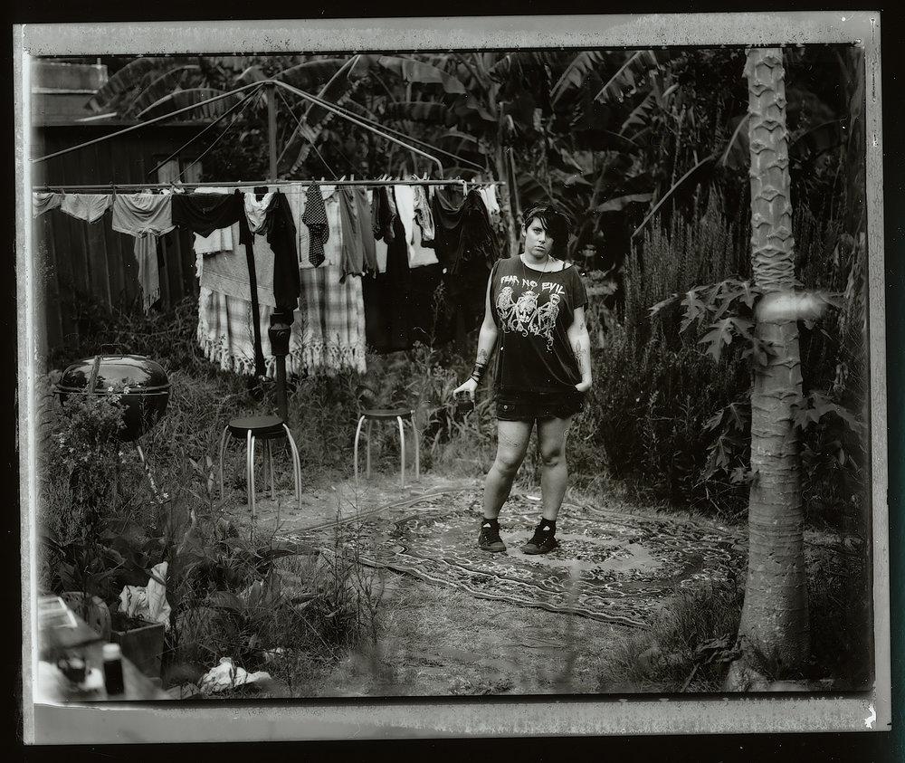 <i>Anika #1</i>, 2009, Polaroid 665, 8.5 x 10.8 cm