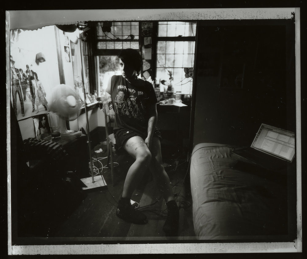 <i>Anika #2</i>, 2009, Polaroid 665, 8.5 x 10.8 cm