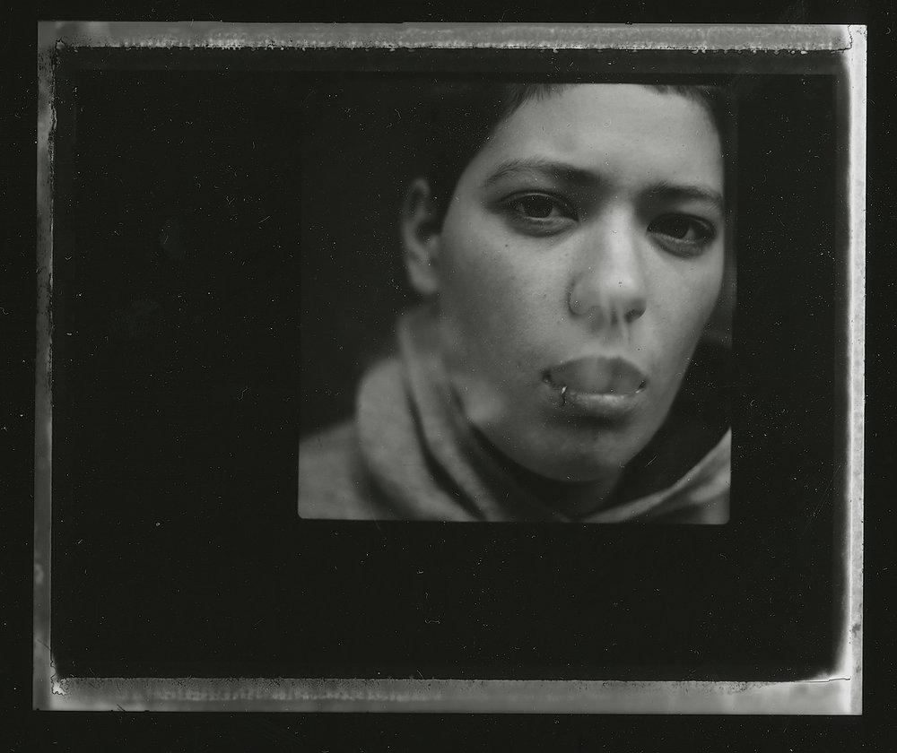 <i>Jackson #2</i>, 2008, Polaroid 665, 8.5 x 10.8 cm