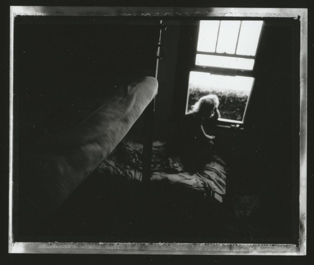 <i>Meeso #2</i>, 2009, Polaroid 665, 8.5 x 10.8 cm