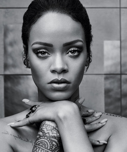 Rihanna for T Magazine, portrait by: Craig McDean