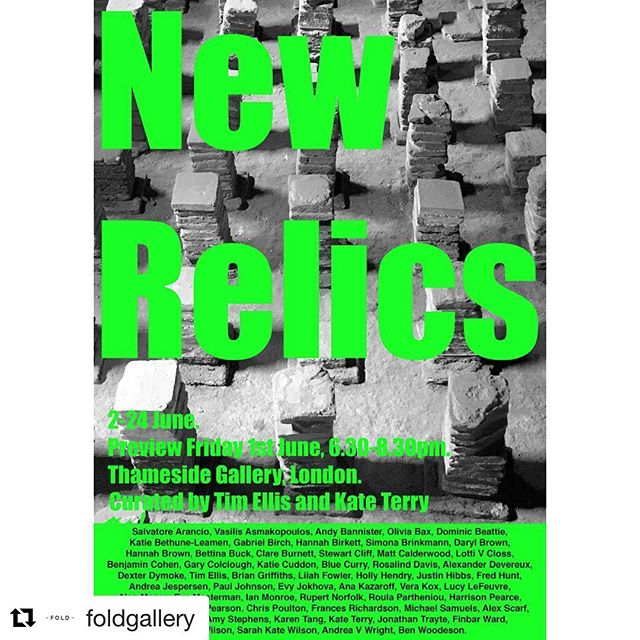 I am very pleased to be showing work in New Relics, an exhibition dedicated to sculpture ...... New Relics, curated by #foldgallery artist Tim Ellis @timellisartist and Kate Terry @kateterryartist at Thameside Gallery, London @thamessidestudiosse18  #newrelics #sculpture #contemporarysculpture #legends #sculpturelovers #sculpturelove #installation #form #londonart #megashow #londonartists #thisissculpture #curator #curatorial #curatorialpractice #outdoorsculpture #contemporaryart #contemporaryartists #relics #sculptures  @aranciosalvatore @vasilisasimakopoulos @andy_bannister68 @olivia_bax_ @dominicbeattiestudio @k.bethune.leamen Gabriel Birch @birko23 @simonabrinkmann @darylbrownart @hannahbrownartist Bettina Buck @clareeburnett @slloydcliff @mattcalderworld @lotti_v_closs @benjamin___cohen @gary_colclough @katie.cuddon @blue_curry @rosalindnldavis @alexanderdevereux @dexterdymoke @timellisartist @briancyrilgriffiths @lilah_fowler @h.ollyh.endry @justinjhibbs Fred Hunt @aj.andrea.jespersen @_paul.johnson @evyjokhova @anakazaroff @vera_kox Lucy LeFeuvre @alan_magee @evamasterman @m_ian_monroe Rupert Norfolk @rpartheniou @harrisonspearce @hamishpearch @markpearsonart @chrispoulton47 @francesrichardson100 @michaelsamuels_ @alex_scarfe @zoeschoenherr @amystephens7 Karen Tang @jonathan_trayte @finbarward Elaine Wilson @sarah_kate_wilson @andreavwright @benwoodeson