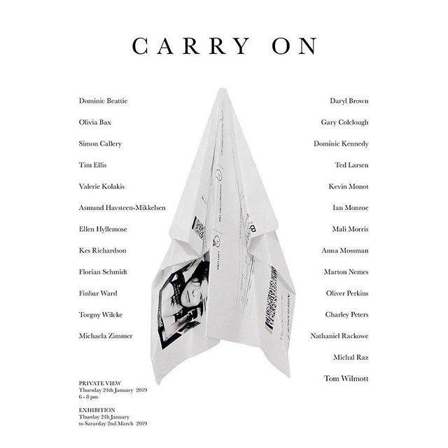 Come to the group show 'Carry On' curated by Tim Ellis at FOLD Gallery January 24, 2019. PV 6-8. All the work has to fit in a carry on suitcase!! #foldgallerylondon