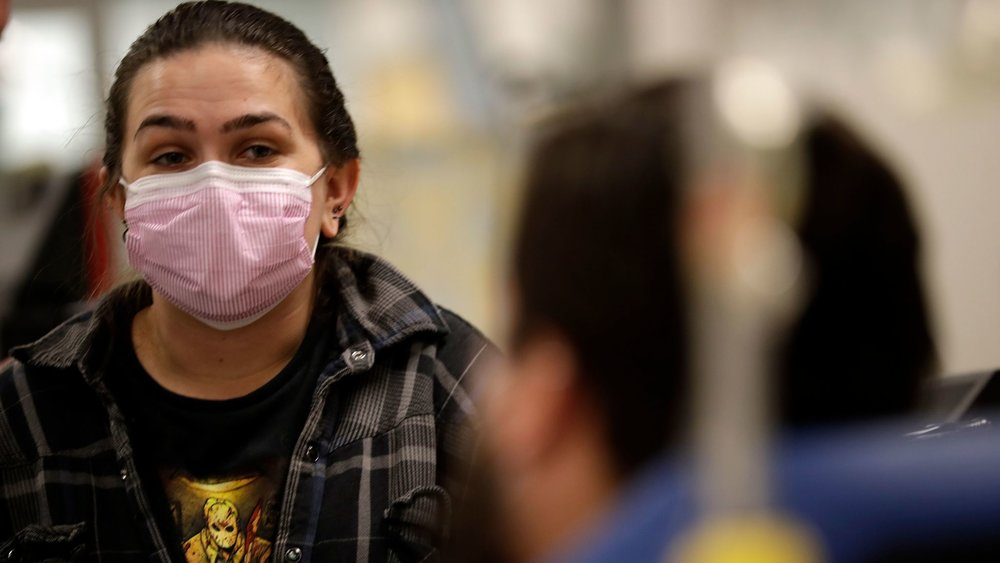 Photo taken in late December, 2017 during the 2017-2018 flu epidemic in Los Angeles.  Photo Credit: Los Angeles Times