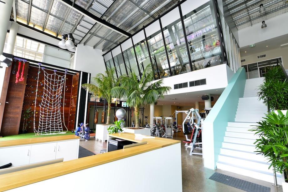 centennial health club interior