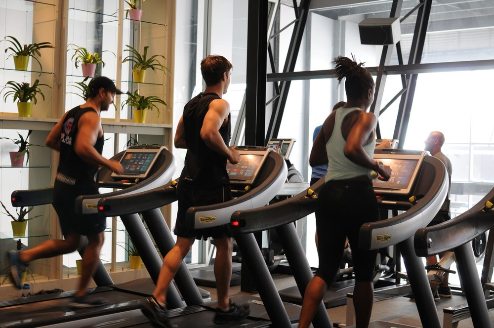 centennial health club technogym cardio equipment