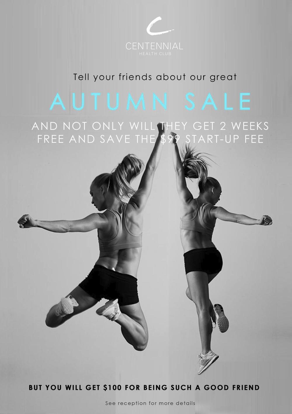refer a friend centennial health club