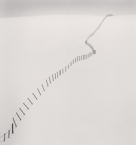 Hillside Fence, Study 2, Teshikaga, Hokkaido, Japan. 2002